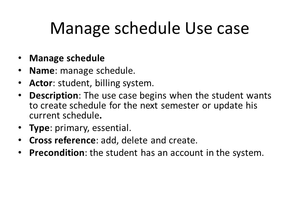 Expanded use case (cont..) Typical course of event Actor ActionSystem response 1.