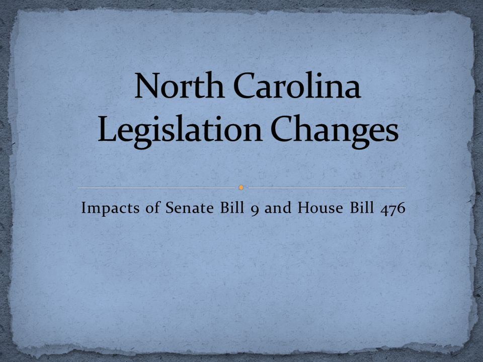 Impacts of Senate Bill 9 and House Bill 476