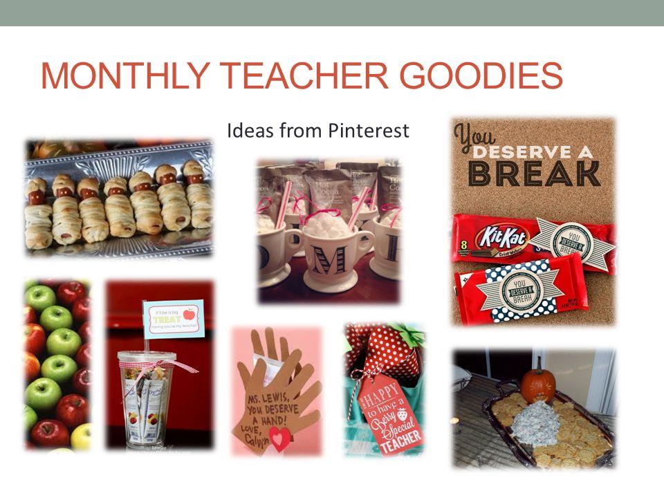 MONTHLY TEACHER GOODIES Ideas from Pinterest