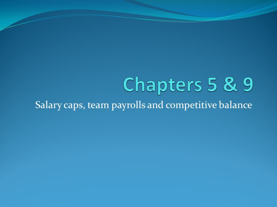 Salary Cap Definition Cap on payroll spending that is equal across all teams (NFL, NBA, NHL, but not MLB) In the NBA, also involves a cap on individual player salaries Goals: to equalize talent spending/enhance competitive balance to counteract increased salaries resulting from free agency.