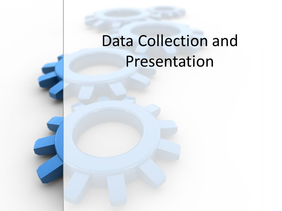 Free PowerPoint Backgrounds Data Collection and Presentation