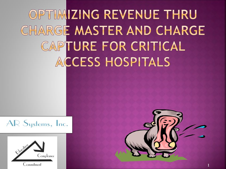 CAHs have similar services = same as OPPS hospitals CAHs have different claim submission rules for outpt to inpt but documentation of billable services are the same.