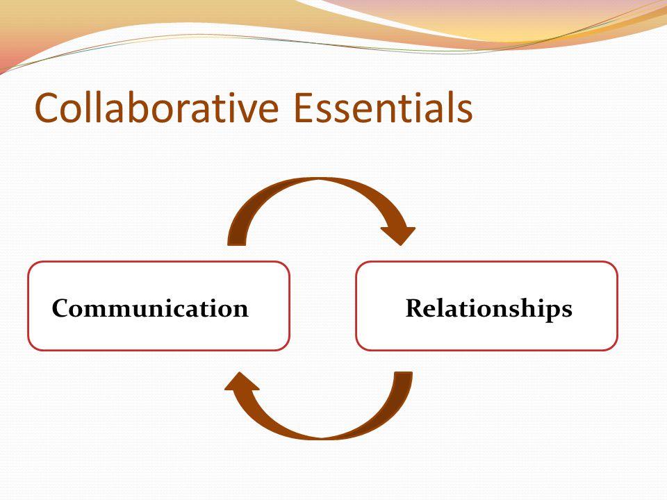 Collaborative Essentials CommunicationRelationships