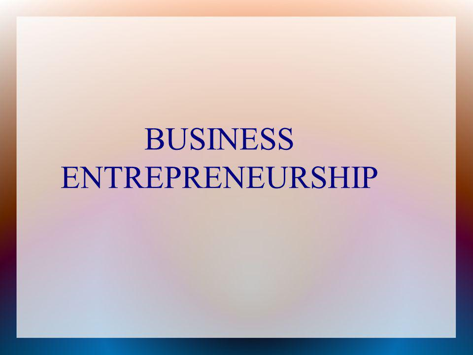 In political economics, entrepreneurship is the quality of being an entrepreneur, i.e.