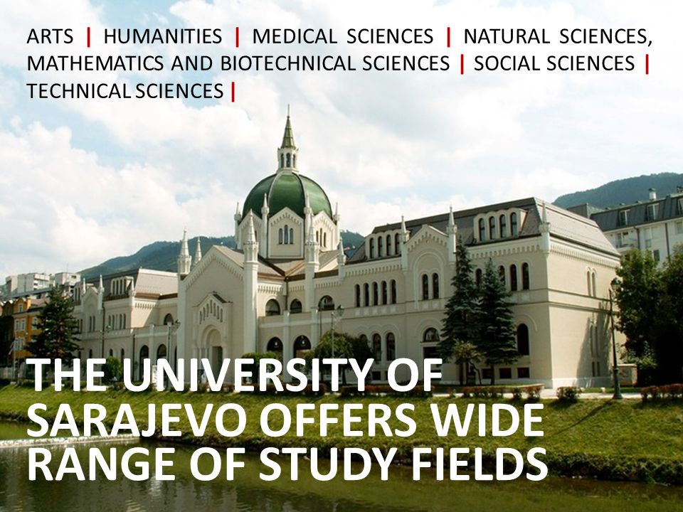 LIVING AND STUDING IN SARAJEVO SARAJEVO > CULTURE Sarajevo - a city or a living legend.