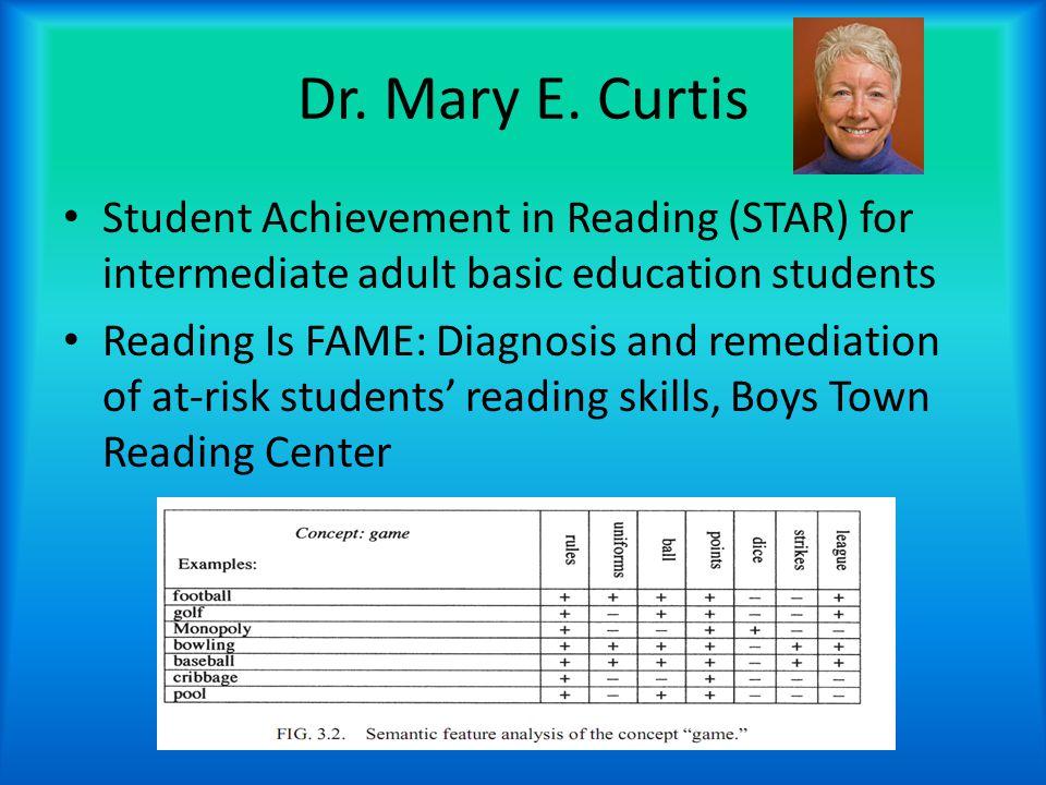 Dr. Mary E.