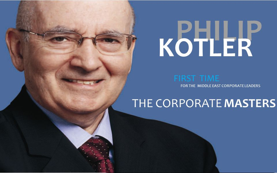 Major Case Study Presentation by Professor Philip Kotler, discussion by participants & panel members as well as other activities of the workshop will be recorded for Diamond & Platinum Sponsor.