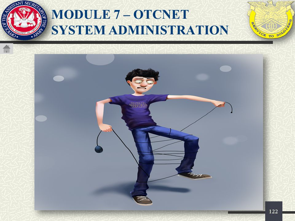 123 Check Capture Administrator (CCA) User MUST be created prior to accessing OTCnet.