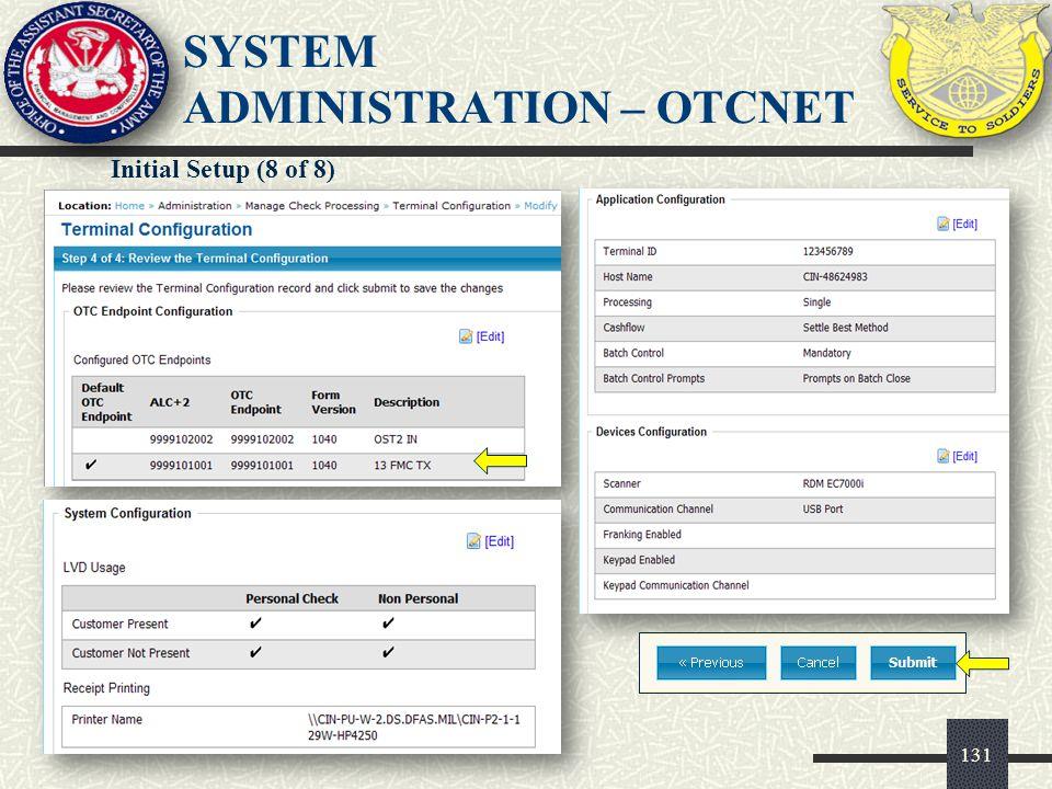 132 MODULE 8 – PHYSICAL SECURITY/ECC FORMS