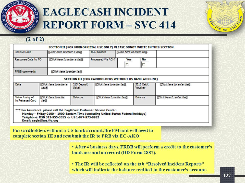 138 The IR log is located on the EC-AKO site under Incident Reports.