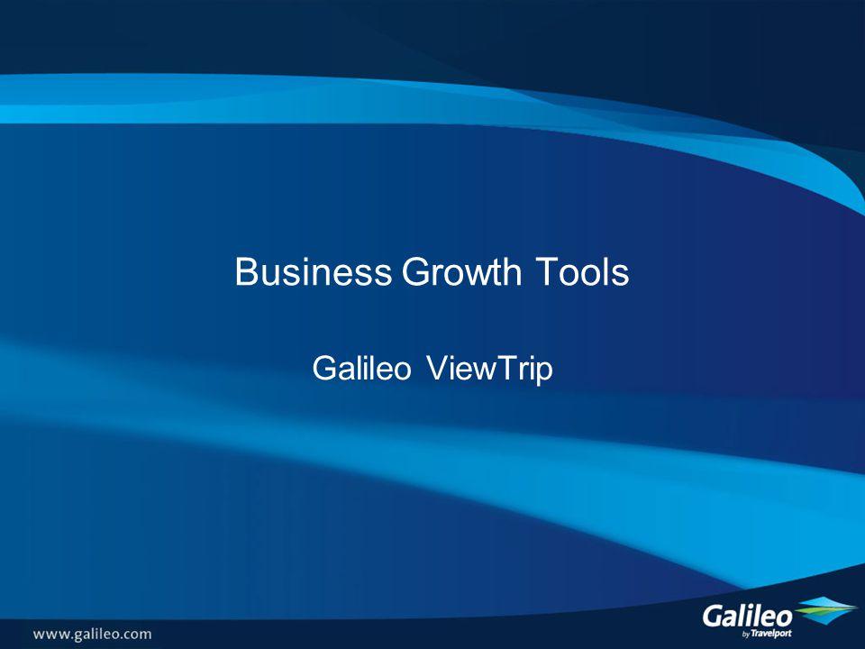 Business Growth Tools Galileo ViewTrip
