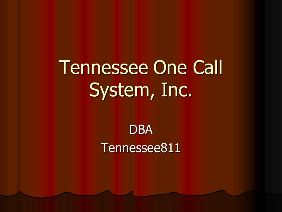 Tennessee811 Center Performance Statistics Call Volume by Month Call Volume by Month Speed of Answer Speed of Answer Call Length Call Length Calls Answered within 30 Seconds Calls Answered within 30 Seconds Ticket to Transmission Ratio Ticket to Transmission Ratio Historical Ticket data Historical Ticket data