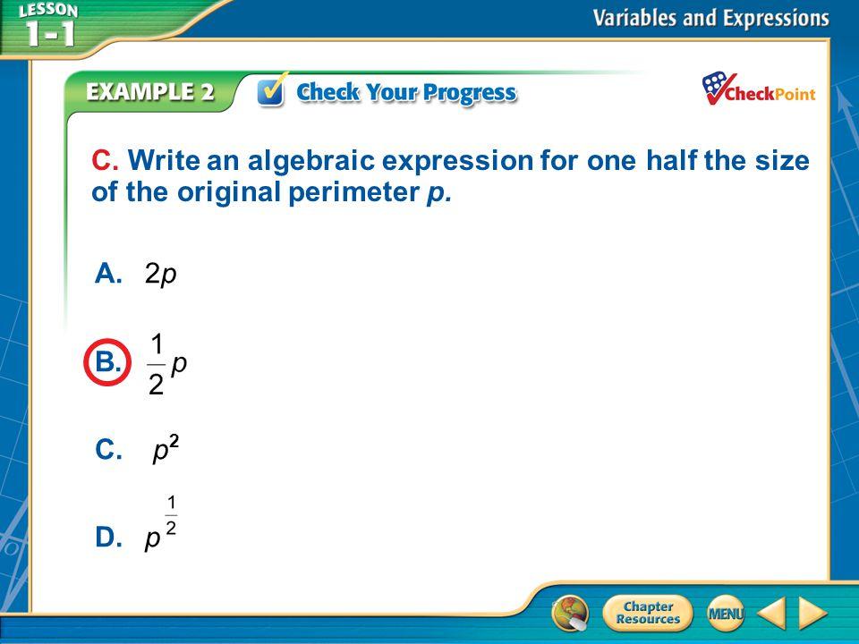 A.A B.B C.C D.D Example 2 C.