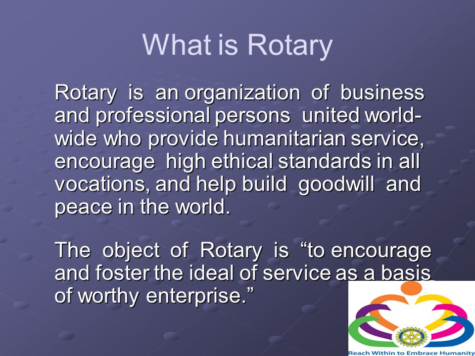 13 District Governors Selma Rotary has been the home club of the 6880 District Governor on 5 occasions.