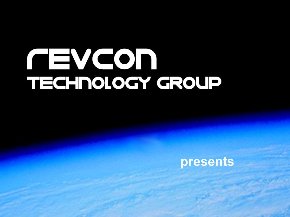 presents Revcon TechnoloGy Group