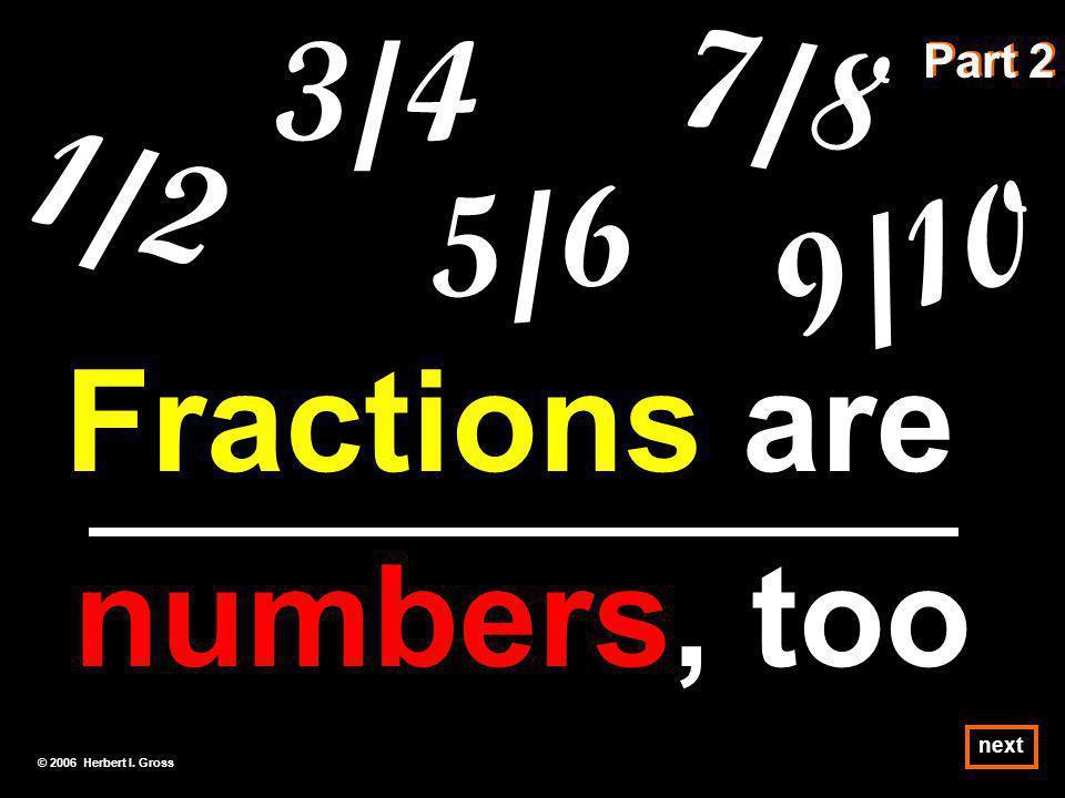 Division Rates Common Fractions next © 2006 Herbert I. Gross
