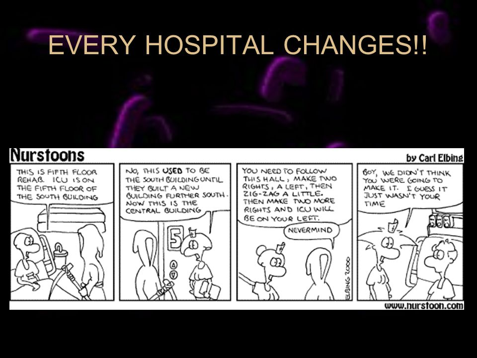 EVERY HOSPITAL CHANGES!!