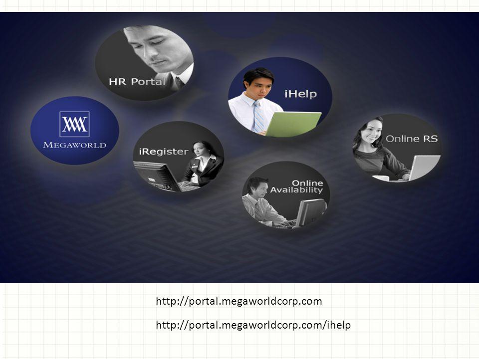 http://portal.megaworldcorp.com http://portal.megaworldcorp.com/ihelp