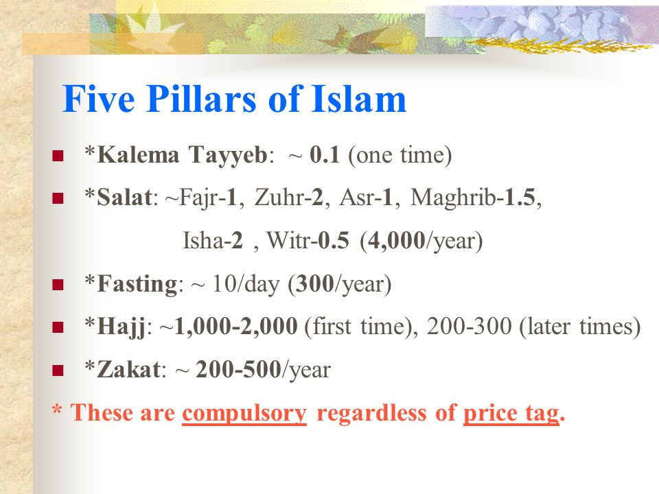 How to Calculate Hereafter.