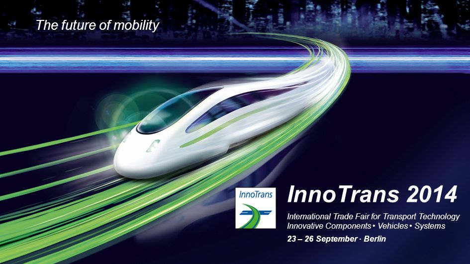 12 InnoTrans Convention Dialog Forum DB Suppliers Forum InnoTrans Majlis International Design Forum International Tunnel Forum Public Transport Forum Rail Leaders Summit