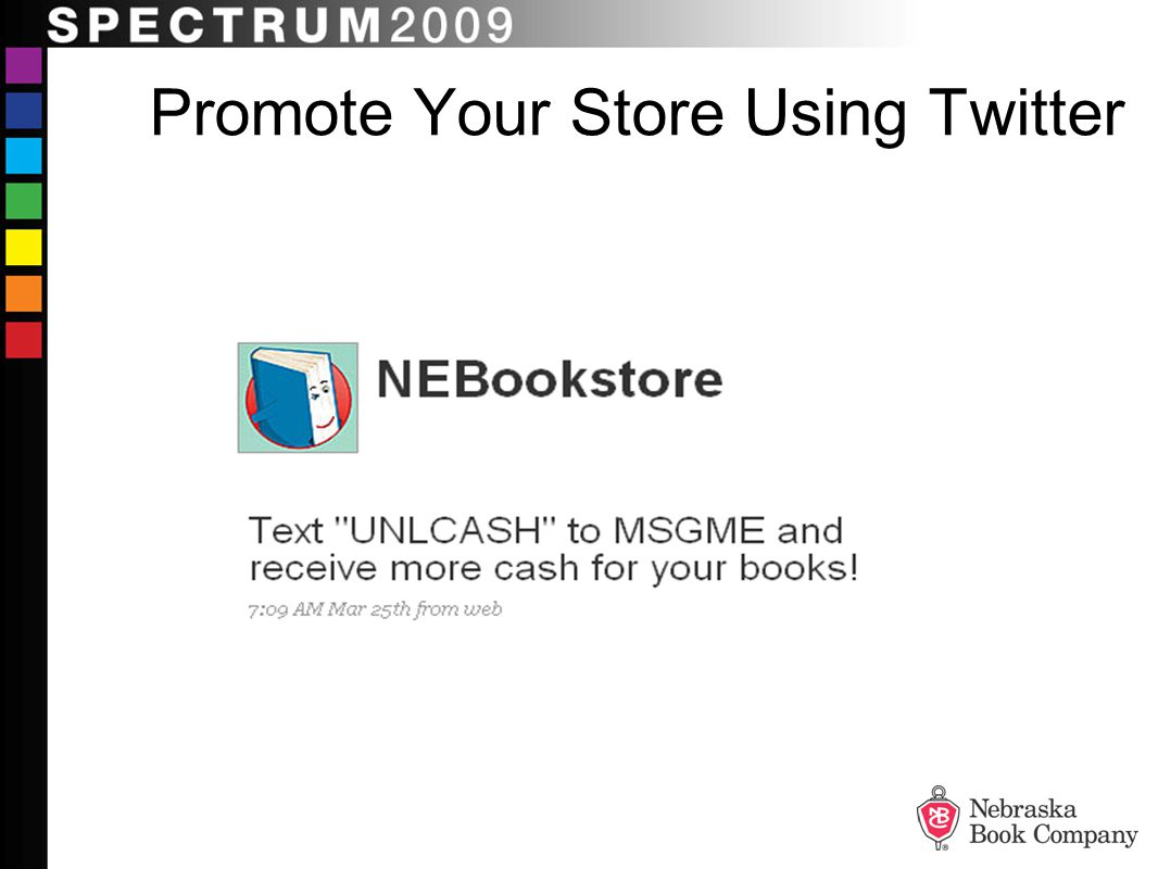 Promote Your Store Using Twitter