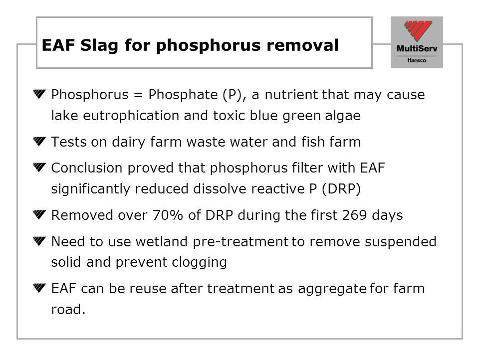 Phosphorus retention mechanism Steel slag