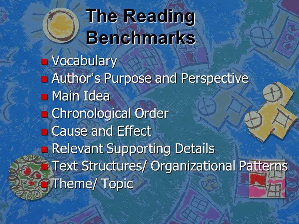 What Will be Tested? n There are reading standards that are determined by the Florida Department of Education to be included in the FCAT. They are cal