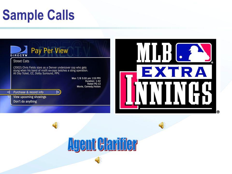 Sample Calls