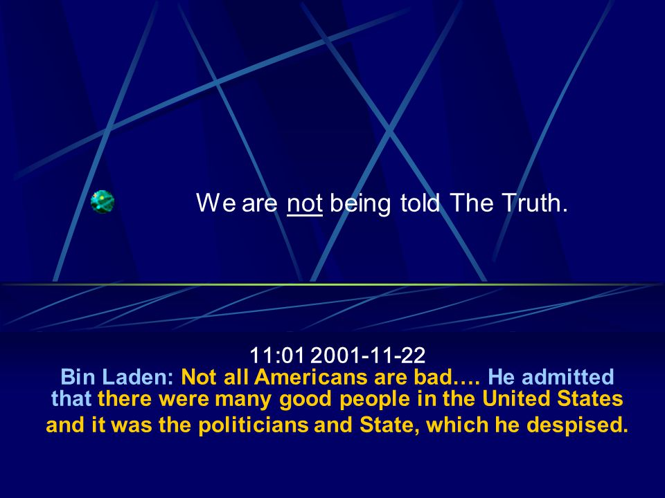 Company Confidential 28 October 7, 2001, no more Taliban, Bridas standing in the way 9-11 happens and we have the excuse to attack, breach that contract Who kept Bridas tied up in court for 8 years.