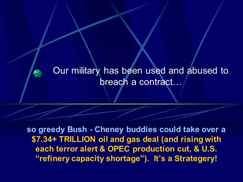 Company Confidential 39 9-11 Commission covered up in Conflicts of Interest Jamie Gorelick sits on the boards of two companies directly benefiting from Bush – Cheney policy, one oil related (Schlumberger), one defense related (United Technologies), not to mention her prior position as General Counsel of the Department of Defense while the Bridas mugging was in progress.