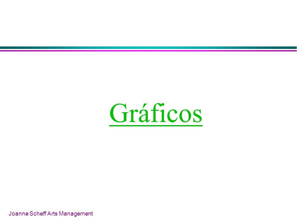 Joanne Scheff Arts Management Gráficos
