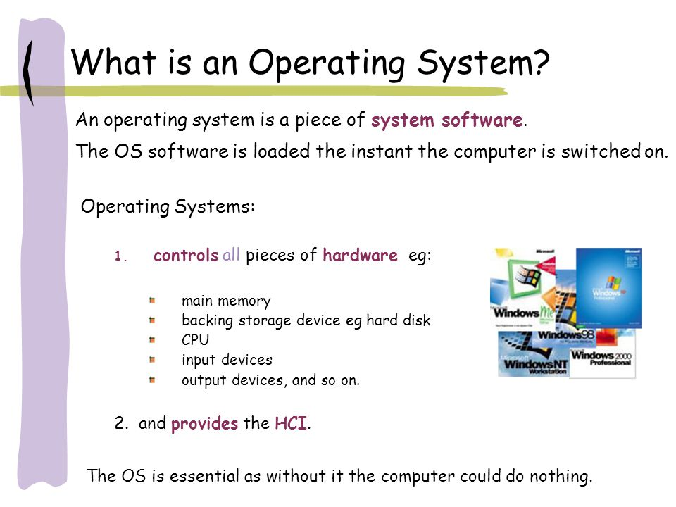 Functions of OS 1.Memory Management Controls main memory storage of programs and data, enabling multi-programming.