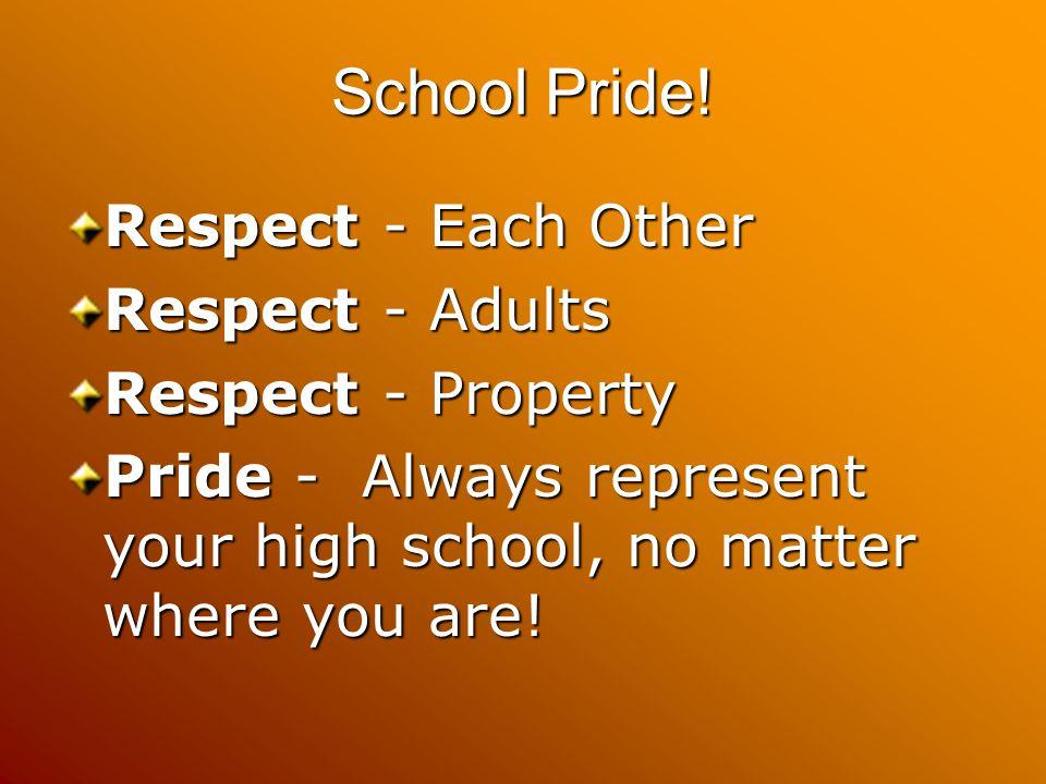 School Pride.
