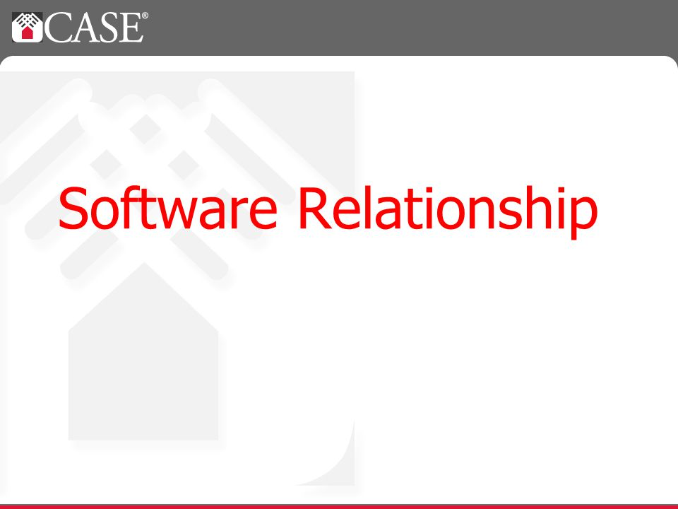 Software Relationship