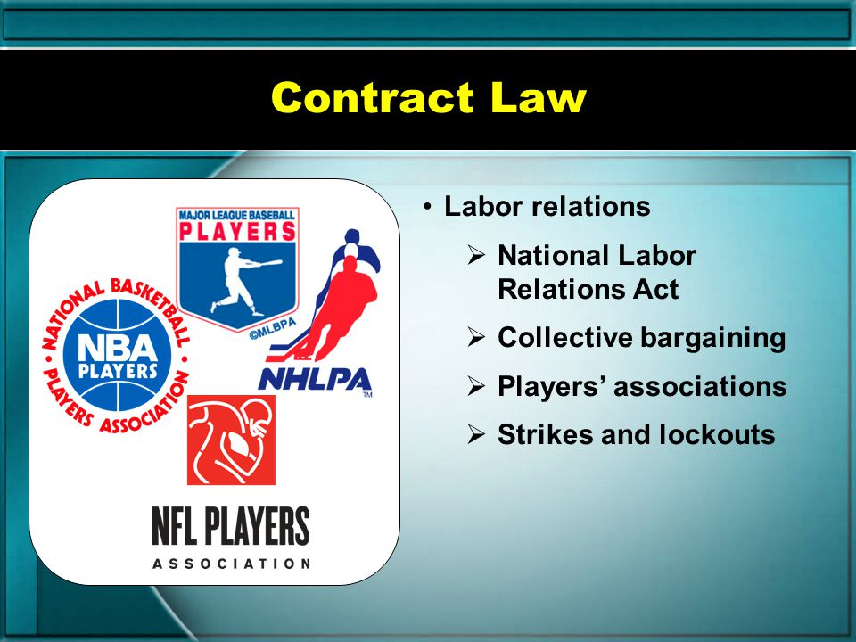 Explain issues of contract law in sport/event marketing.