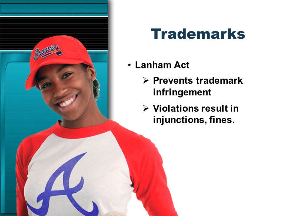 Trademarks Importance of trademarks: Money Reputation