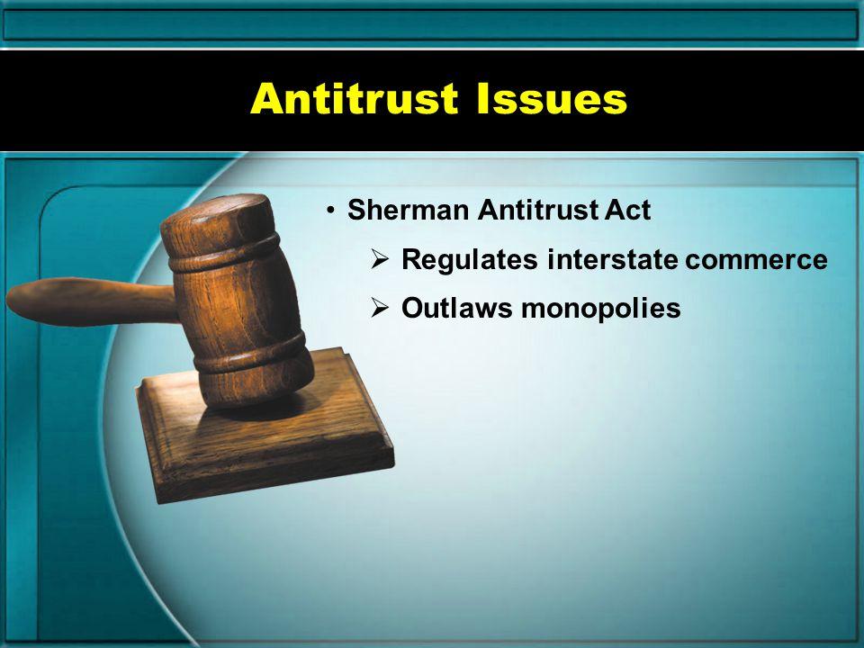 Trademarks Lanham Act Prevents trademark infringement Violations result in injunctions, fines.