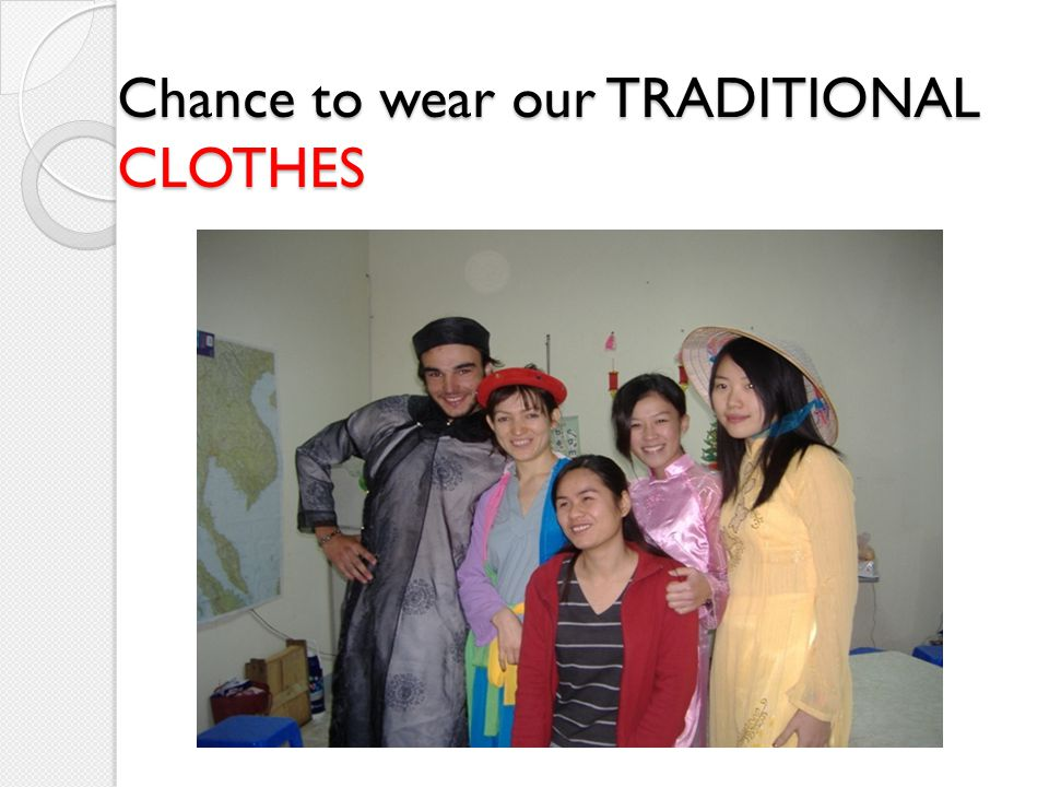 Chance to wear our TRADITIONAL CLOTHES