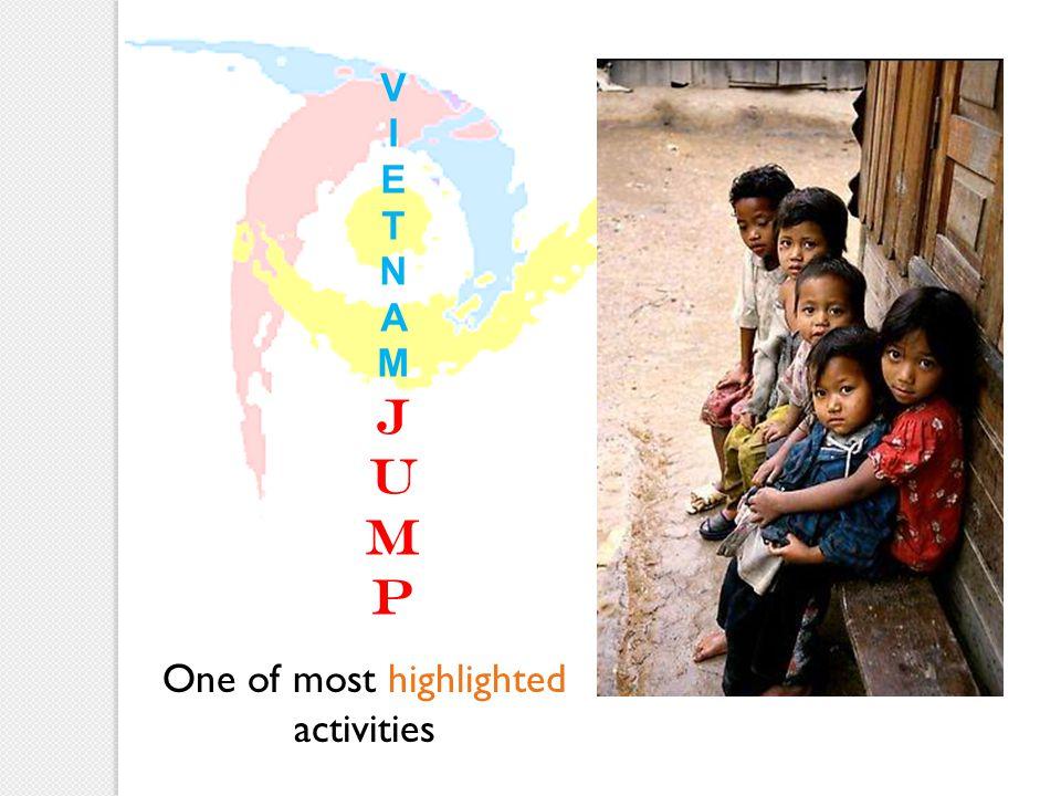 VIETNAMJUMPVIETNAMJUMP One of most highlighted activities