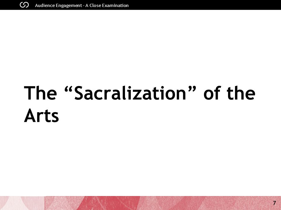 7 The Sacralization of the Arts