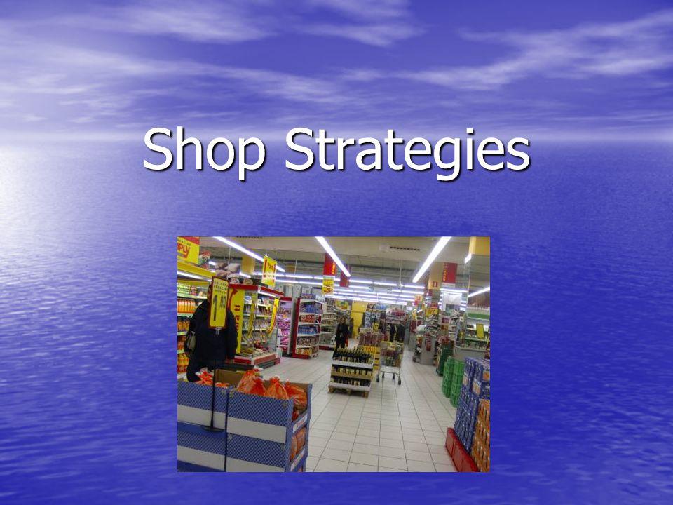 Shop Strategies