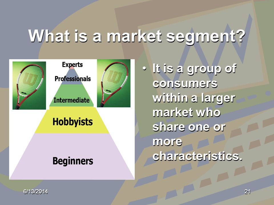 What is a market segment.