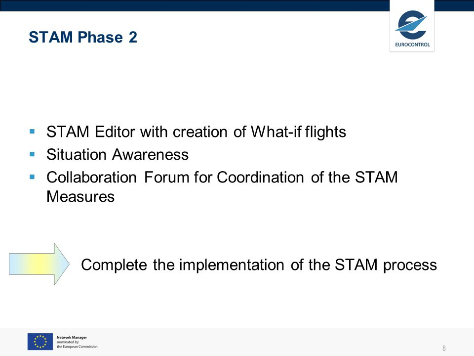 9 STAM Measure Editor Cherry Picked flights Precise and focussed Wider variety of measure type Coordinated workflow AUs preferences