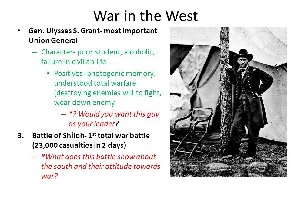 4.Battle of Antietam- bloodiest 1 day battle in US history (23K casualties) – Gen.