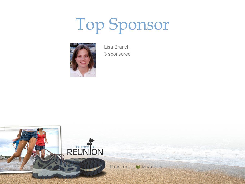 Top Sponsor Lisa Branch 3 sponsored