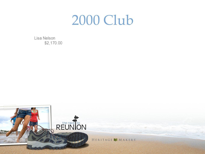 2000 Club Lisa Nelson $2,170.00