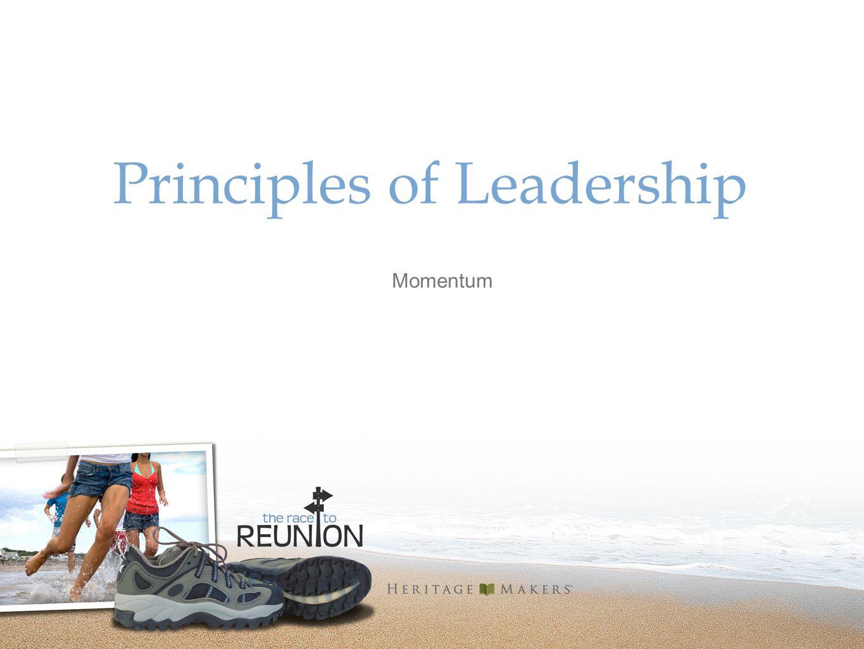Principles of Leadership Momentum