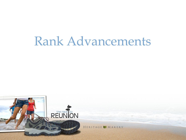 Rank Advancements