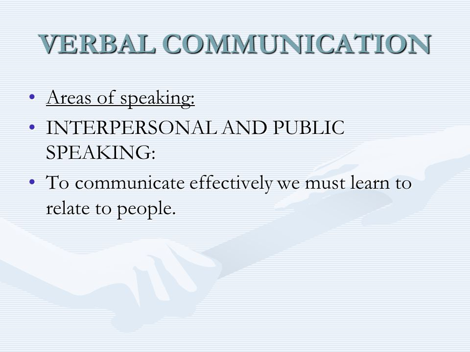 VERBAL COMMUNICATION ETIQUETTE IN INTERPERSONAL SPEAKING: Examples of General Telephone Etiquette:Examples of General Telephone Etiquette: Identify yourself, with your first and last name, when answering the phone.Identify yourself, with your first and last name, when answering the phone.