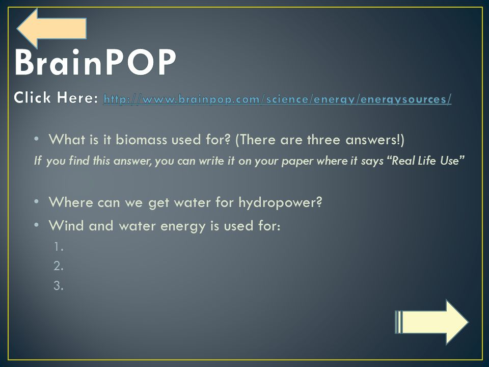 What is it biomass used for.